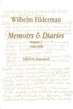 Picture of Wilhelm Filderman: Memoirs and Diaries, volume 2 – 1940-1952
