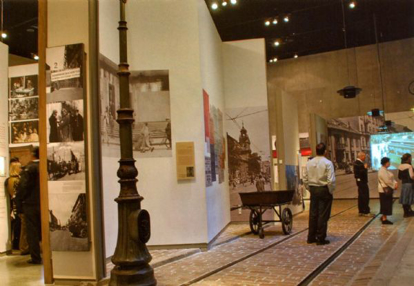 Picture of Postcard - Interior of the Holocaust History Museum at Yad Vashem I