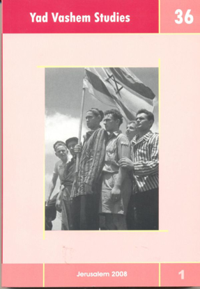 Picture of Ben Gurion and the Eichmann Trial in Yad Vashem Studies, Volume 36:1