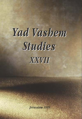 Picture of Switzerland and the Refugees in Yad Vashem Studies, Volume XXVII