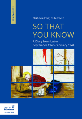 Picture of So that You Know: A Diary from Lwów September 1943–February 1944